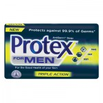 PROTEX FOR MEN TRIPLE ACTION SOAP 150GR